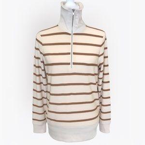 Chaser Lightweight Zip Turtleneck Sweater - M
